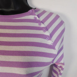 GAP Tops - Gap Juniors Purple/White Top M CL1667 0919